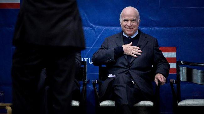 Donald Trump Ucapkan Belasungkawa atas Kepergian McCain