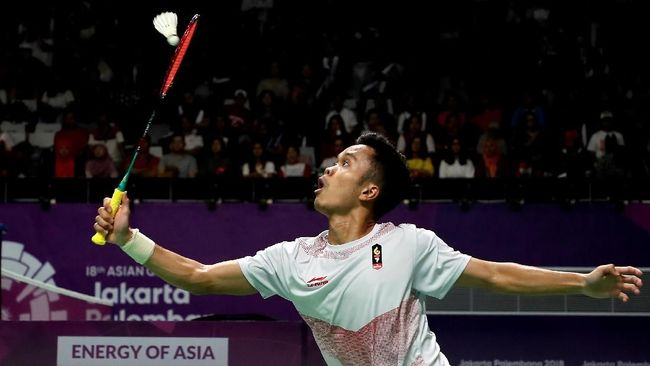 Anthony Ginting ke Final China Terbuka 2018