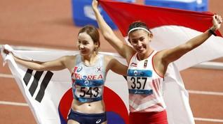Medali Indonesia Diraih Lari Gawang di Asian Games