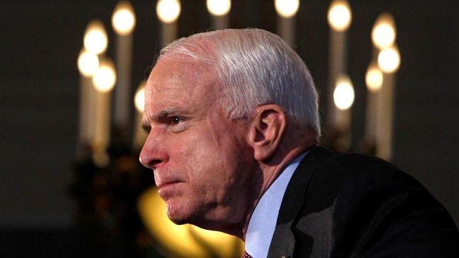 Wapres AS: John McCain Akan Selalu Dikenang dengan Terhormat
