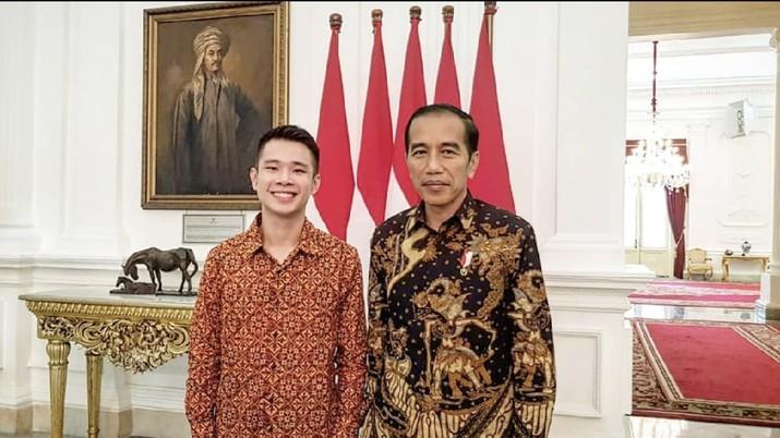 Berkat Mobile Legends, Pemuda Ini Kaya Raya dan Dipuji Jokowi