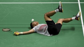 Anthony Ginting Gagal ke Semifinal Selandia Baru Terbuka