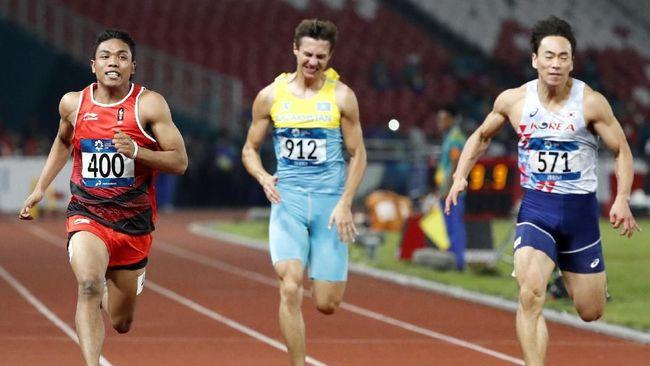 Lalu Zohri Lebih Banyak Menangis Usai Lolos Olimpiade