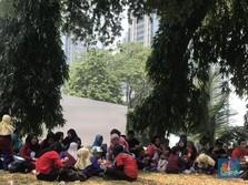 Saat Asian Games Jadi Ajang Piknik Keluarga