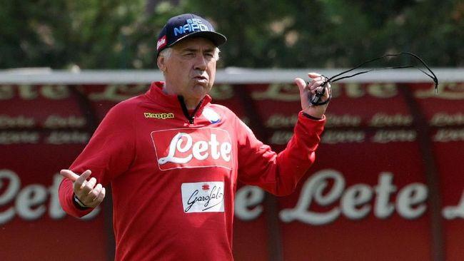 Ancelotti: Butuh Keajaiban untuk Bersaing dengan Juventus