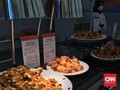 Menu Makanan Kampung Atlet Palembang yang Menggiurkan