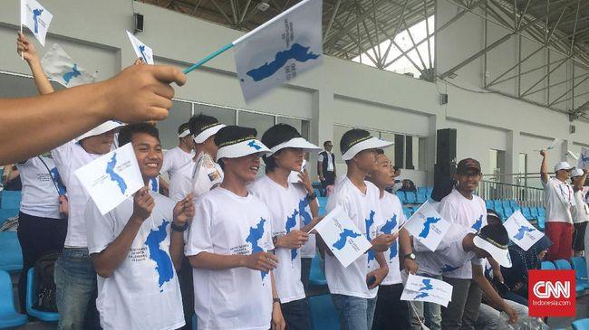 Tim Korea Bersatu 'Sewa' Suporter Indonesia di Asian Games
