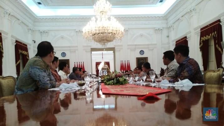 Para 'Konglomerat Junior' yang Memuji Presiden Jokowi