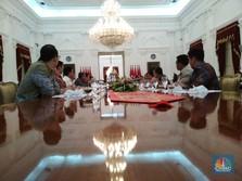 Dari CAD Sampai Turki, Ini Pidato Jokowi di Depan Konglomerat