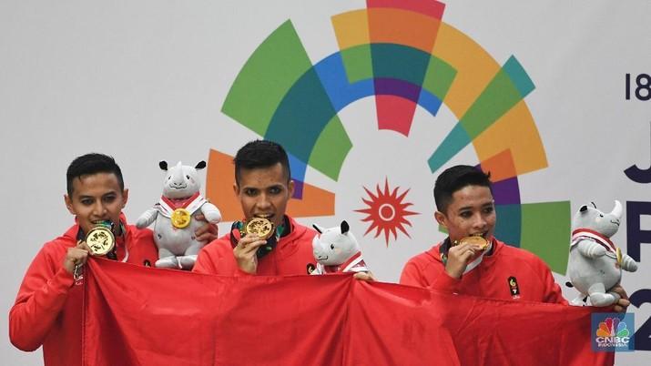 Pemerintah akan memberikan berbagai bentuk bonus untuk peraih medali dalam Asian Games 2018.