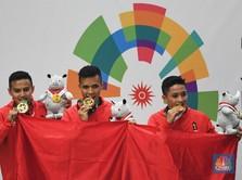 Janji untuk Peraih Medali Asian Games: Uang, PNS, dan Rumah!