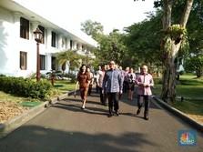 Ini Konglomerat Junior yang Diajak Jokowi Diskusi Soal Rupiah
