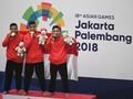 Raih 22 Emas, Indonesia Naik ke-4 di Klasemen Asian Games