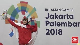 FOTO: Medali Emas Terbanyak Indonesia di Asian Games 2018