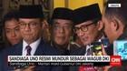 Sandiaga Uno Mengundurkan Diri dari Kursi Wagub DKI Jakarta