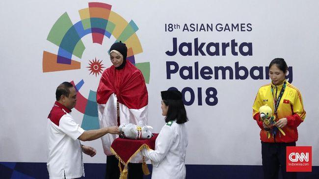 Indonesia Lewati Rekor Emas di Asian Games