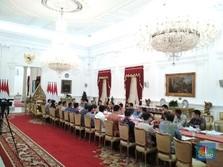 CAD Melebar Hingga 3%, Jokowi: Saya Selesaikan dalam Setahun