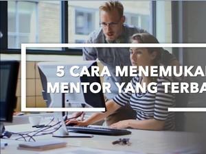Strategi Temukan Mentor Tepat Bagi Karir Anda