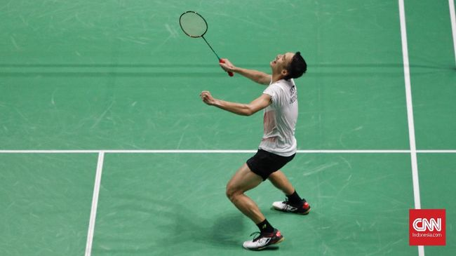 Hasil Australia Terbuka: Jonatan Christie Tekuk Lin Dan