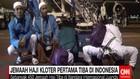 Jemaah Haji Kloter Pertama Tiba di Surabaya