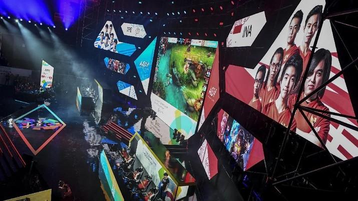 Aksi Para Gamers Saat Bela Negara di eSports Asian Games