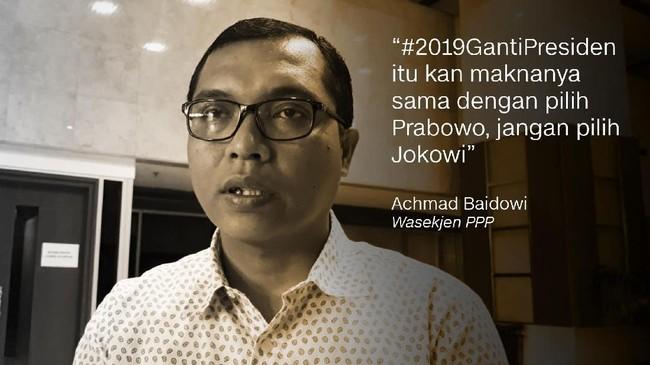 Achmad Baidowi, Wasekjen PPP.