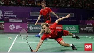 Indonesia Jumpa Taiwan di Perempat Final Piala Sudirman 2019
