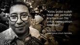 Fadli Zon, Wakil Ketua Umum Gerindra.