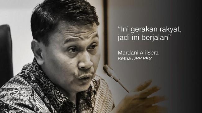 Mardani Ali Sera, Ketua DPP PKS.