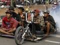 FOTO: Kebangkitan Vespa Ekstrem di Indonesia