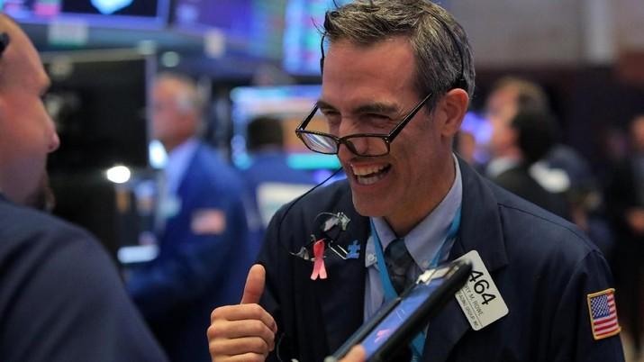 Wall Street reli pada penutupan Selasa (15/10/2019)