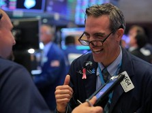 ECB Pangkas Suku Bunga, Wall Street Makin Happy