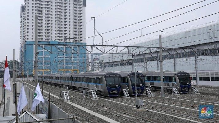 MRT Jakarta siap beroperasi awal 2019.