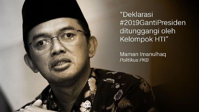 Maman Imanulhaq, Politikus PKB.