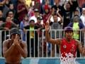 Pelatih Voli Pantai Putra Puas Ulang Sejarah Asian Games 2002