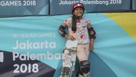 Skater 9 Tahun Gugup Jalani Debut di Asian Games 2018
