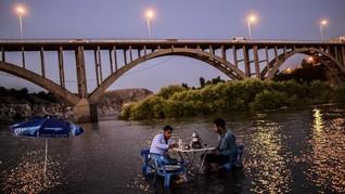 FOTO: Kota Tua Turki yang Tenggelam