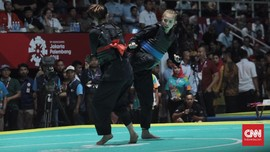 Klasemen Asian Games: Silat 6 Emas, Indonesia Tak Beranjak