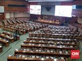 Kursi Kosong Mendominasi Rapat Paripurna Akhir Tahun DPR