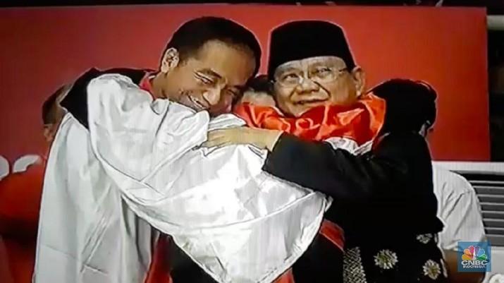 Jokowi dan Prabowo bertemu hari ini di Padepokan Pencak Silat, TMII.
