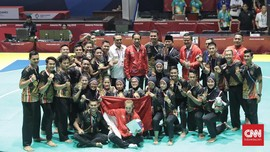 FOTO: Keperkasaan Pencak Silat Indonesia di Asian Games 2018
