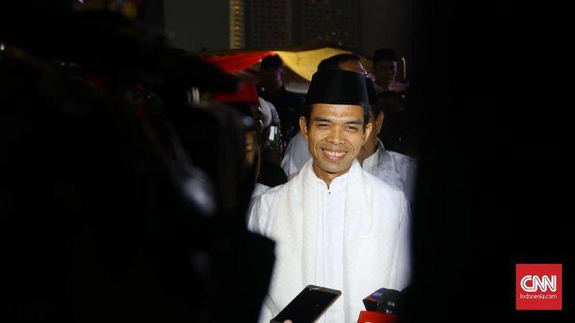 Pertemuan Penting Abdul Somad dan Prabowo Jelang Pencoblosan
