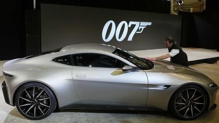 Aston Martin memiliki valuasi US$6,4 miliar.