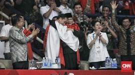 Atlet Penyatu Jokowi-Prabowo: Bismillah Sebelum Debat Capres