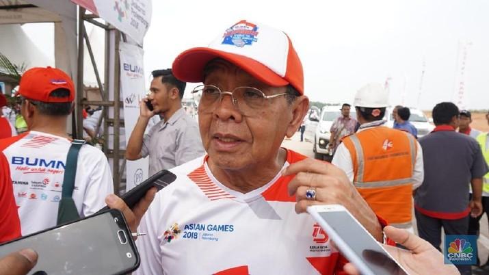 Bos Hutama Karya membeberkan kesepakatan dalam IMF-WB Annual Meetings 2018, perkembangan Jalan Tol Trans-Sumatera hingga holding infrastruktur.