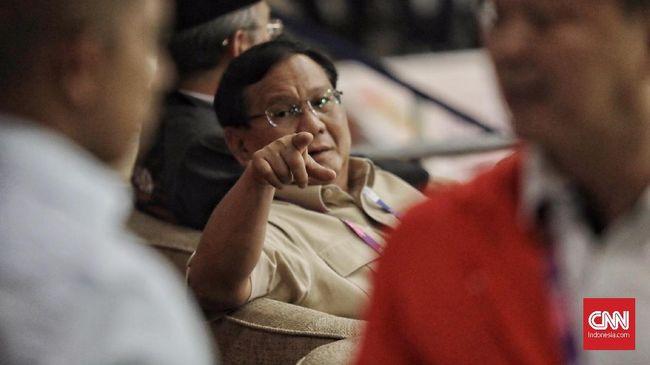 Prabowo Bercita-cita Bentuk Tim Sepak Bola untuk Piala Dunia
