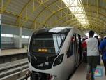 Duh! 'Kanker' Sepi Penumpang Masih Gerogoti LRT Palembang