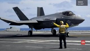 VIDEO: Disebut Punya 1000 Cacat, Jet Tempur F-35 Unjuk Gigi