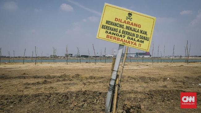 Rawa Rorotan yang berada di Kelurahan Cakung Timur, Kecamatan Cakung, Jakarta Timur, dengan luas sekitar25 Ha merupakan aset Pemprov DKI Jakarta yang diperkuat putusan Pengadilan Tinggi DKI Jakarta Nomor 412/PDT/2013/PT.DKI tanggal 7 Januari 2014. (CNNIndonesia/Adhi Wicaksono)