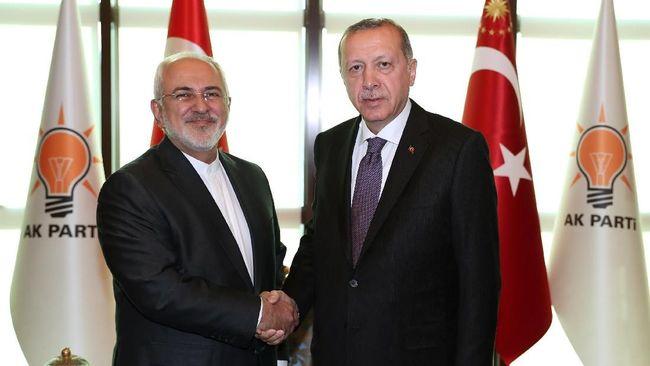 Menlu Iran Temui Erdogan, Bahas Konflik Suriah